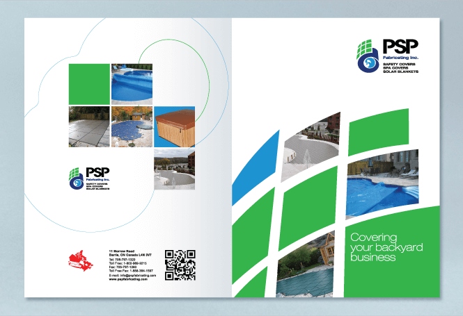 Brochure Design for Manufacturing Company by New Design Group