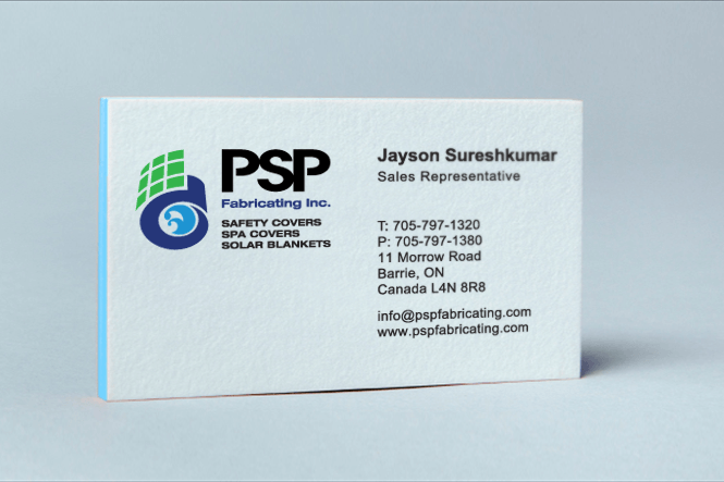 Manufacturing Company Business Card Design by New Design Group