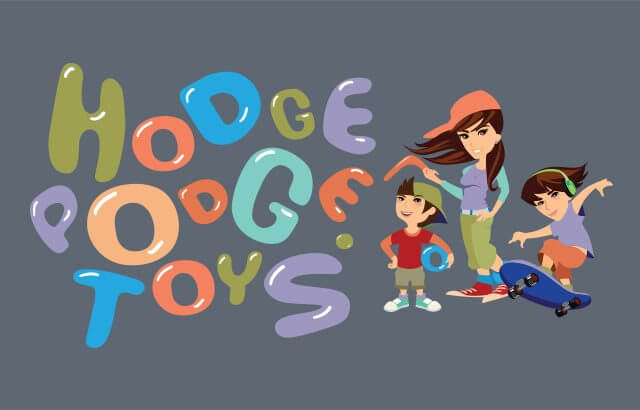 Hodgepodge Toys. Identity Design. Signage and Website Development.