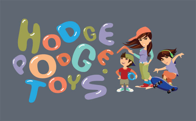 Hodgepodge Toys logo design
