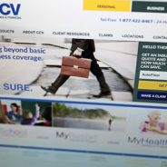 CCV. Insurance company brand identity design and web site design. Case Study