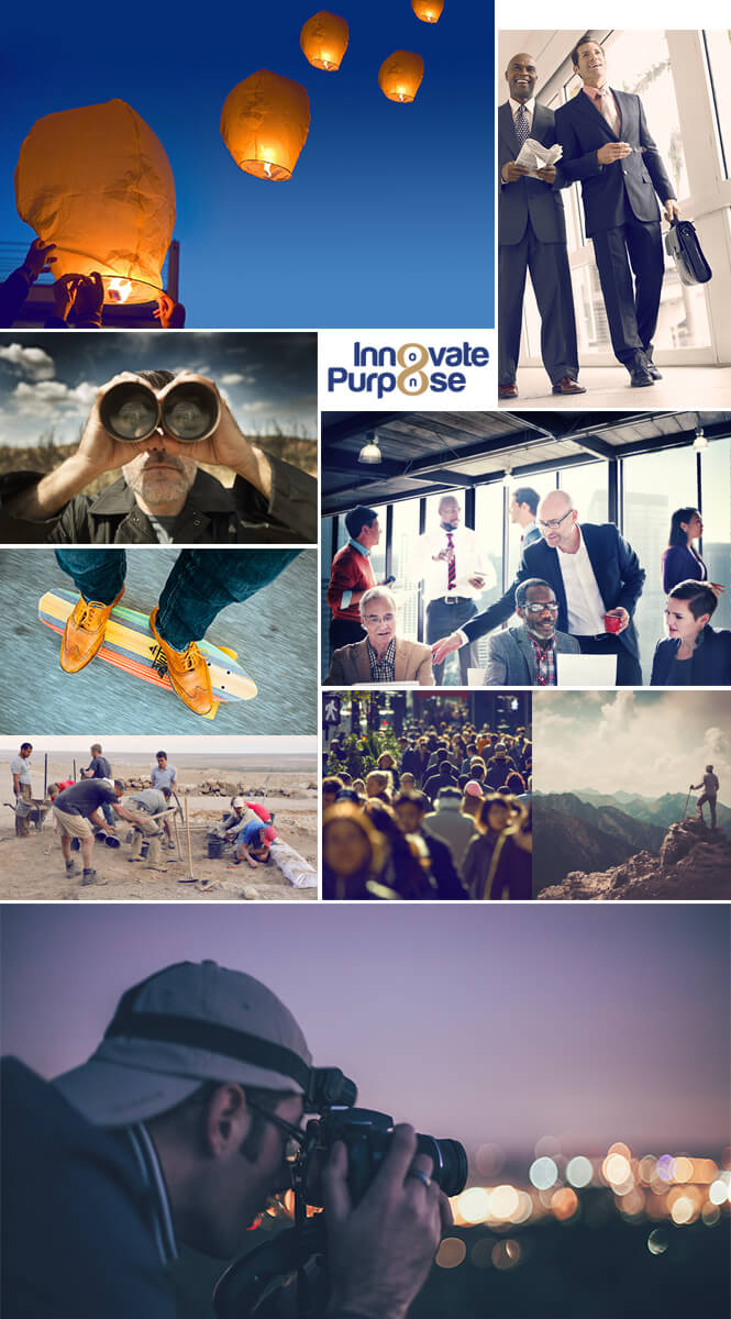 Innovate Purpose website images