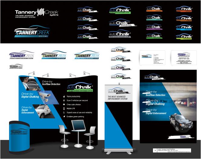 Tannery creek brand identity design samples