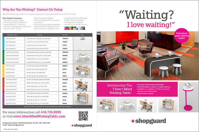 Shopguard brochure sample