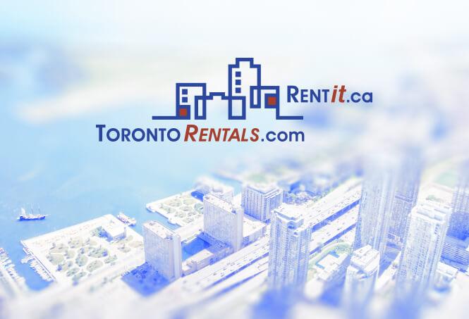 Toronto Rentals logo design