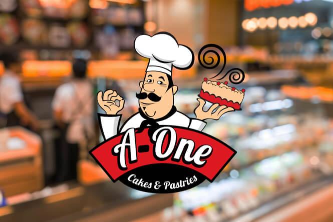 A-one Cake Logo