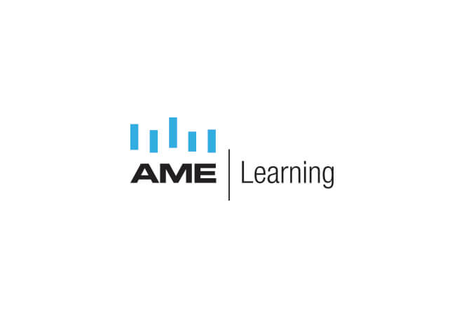AME learning logo design