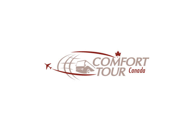 Comfort tour logo design