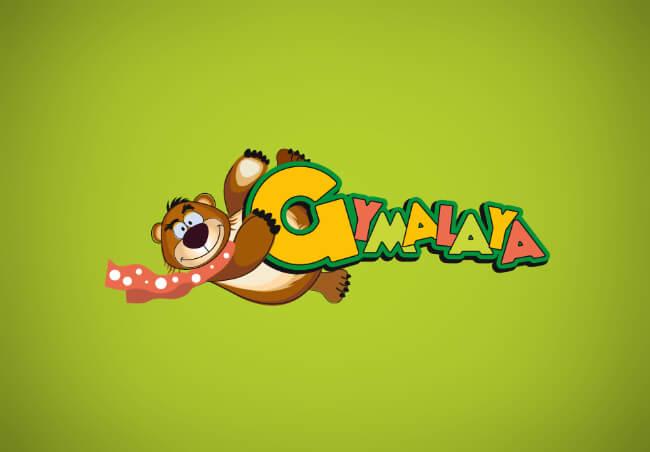 Gymalaya logo design
