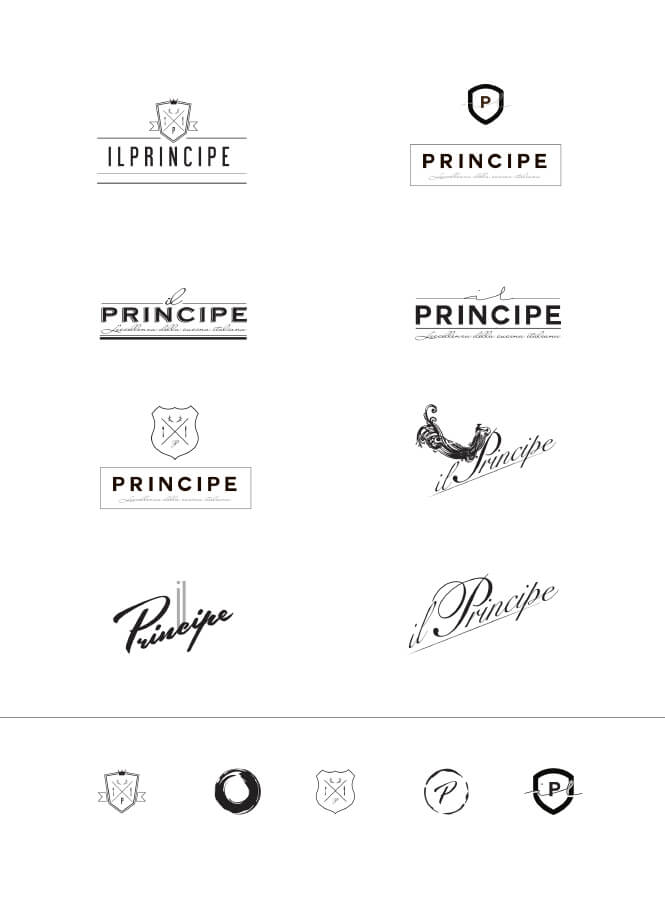 il Principe logo samples