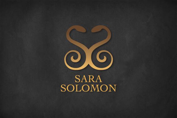 Sara Solomon logo design