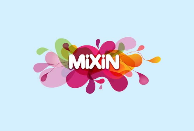 Mixin logo design