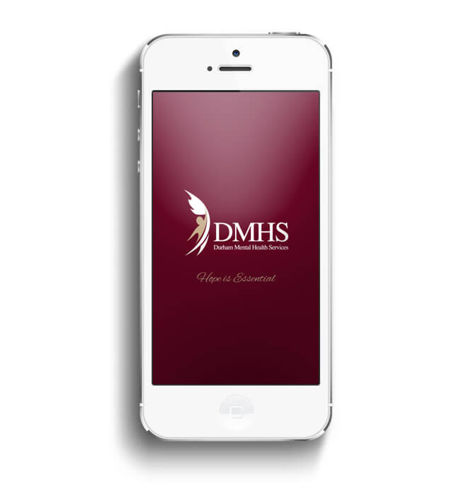 DMHS app first page screenshot