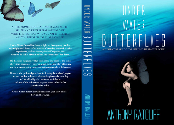Anthony Ratcliff's 'Under Water Butterflies' cover