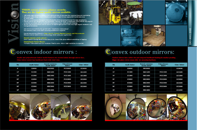 Vision Metalizers product brochure second page