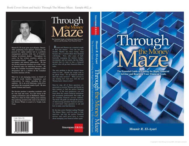 Through the Money Maze cover design