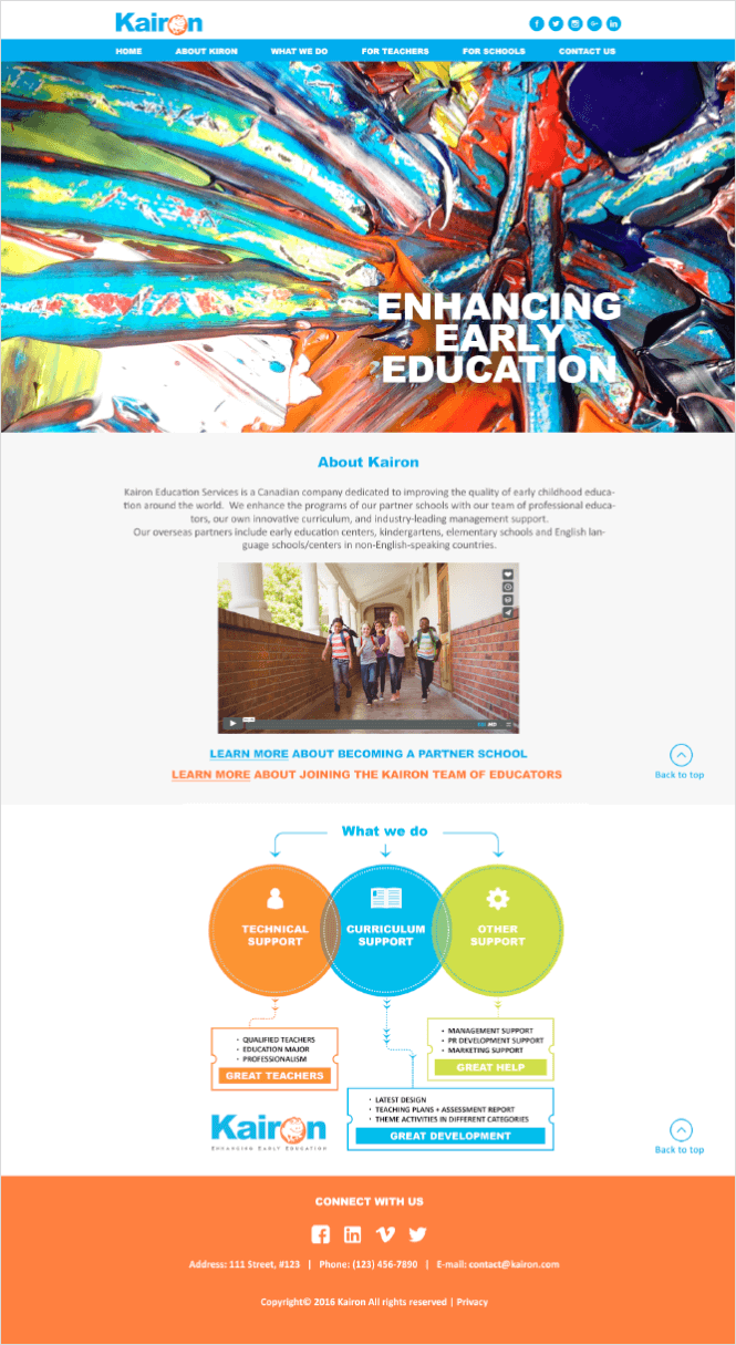 kairon-case-study-website-design