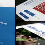 Saddle Stitch Brochure Design. Annual Reports and Catalogues.
